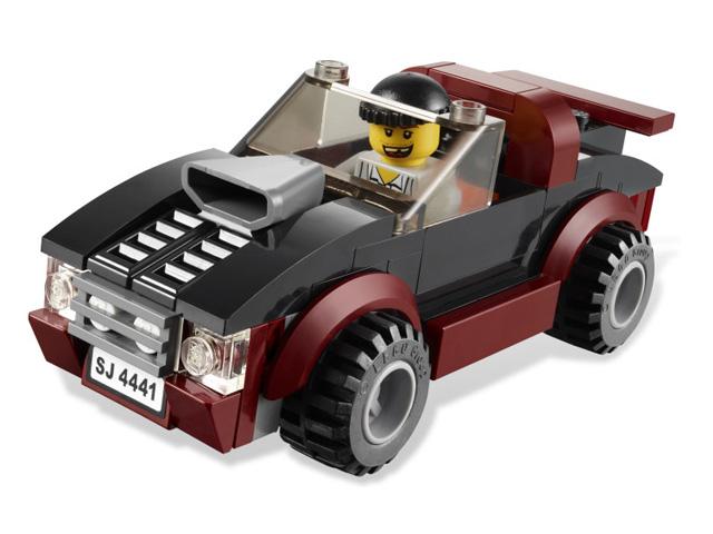 4441 レゴ フォレストポリスドックワゴン