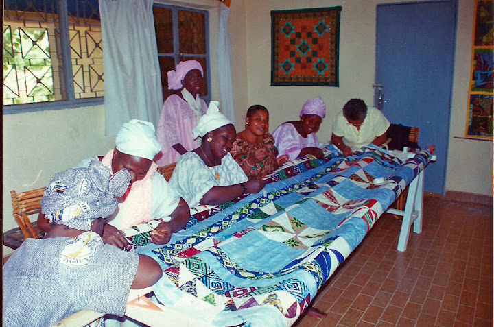 How to Make an African Quilt