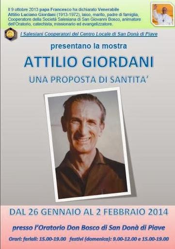 Mostra Attilio Giordani