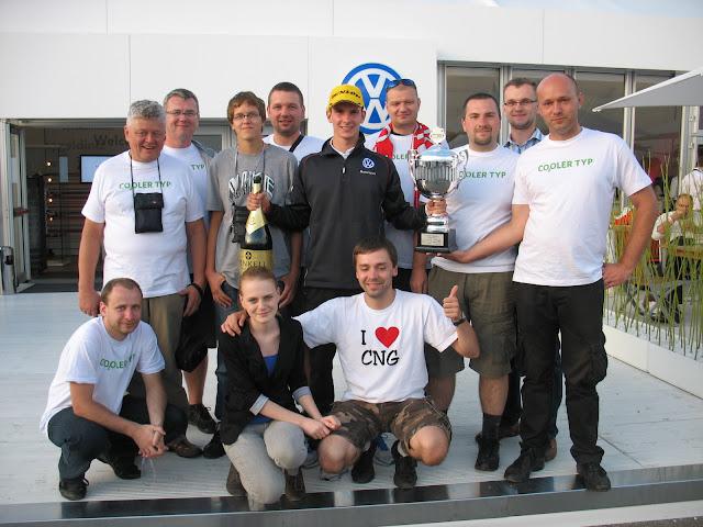 Spotkanie entuzjastów CNG z Mistrzem Scirocco CUP - Mateuszem Lisowskim