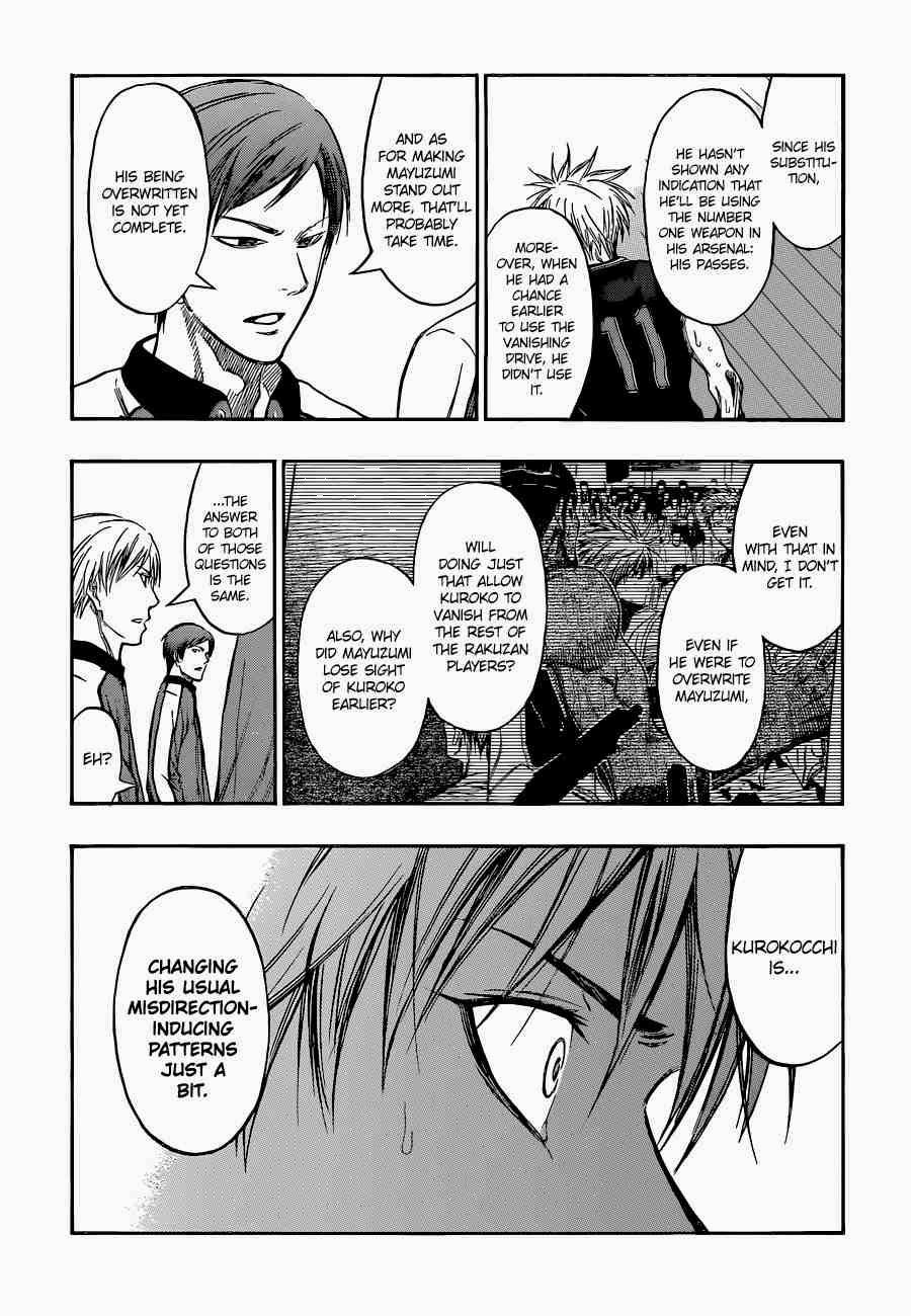 Kuroko no Basket Manga Chapter 249 - Image 14