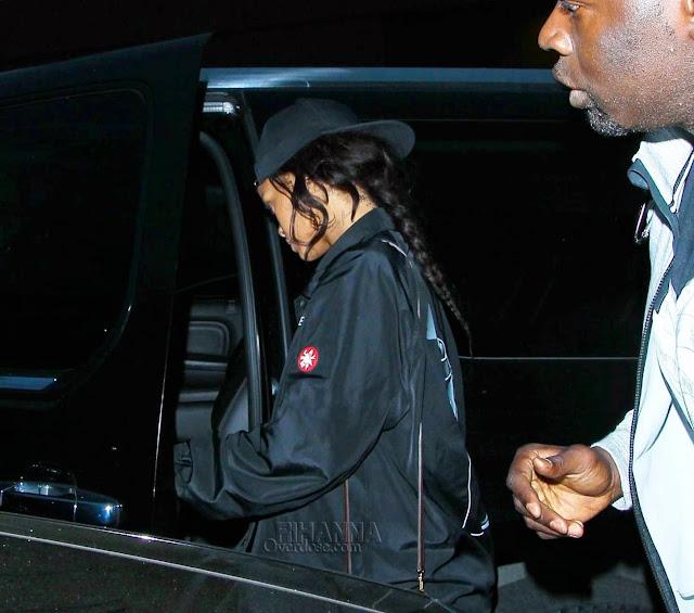 Rihanna in Cav Empt
