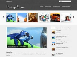 Rising-Moon WordPress Theme