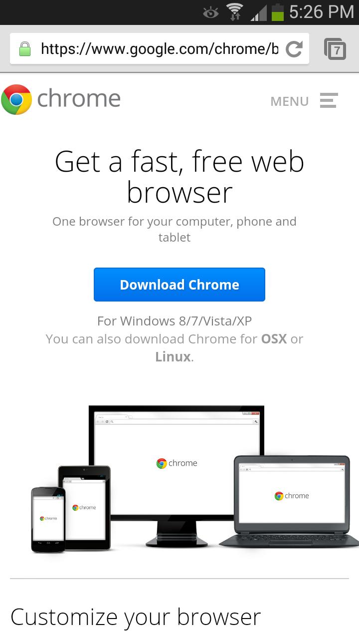 Google Chrome Standalone? - Google Chrome Довідка
