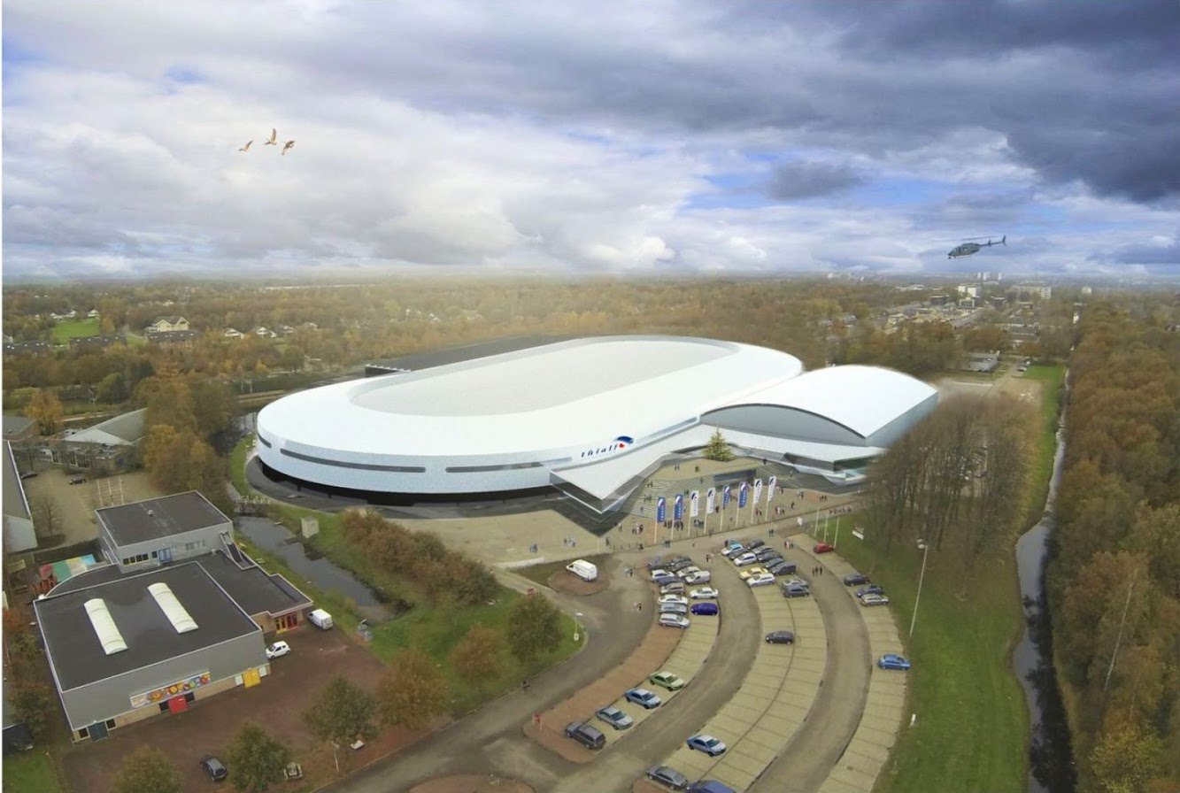 Heerenveen, Paesi Bassi: Ballast Nedam Renovation of the Thialf Arena in Heerenveen