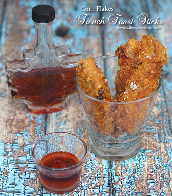 Corn Flakes-Crusted French Toast Sticks