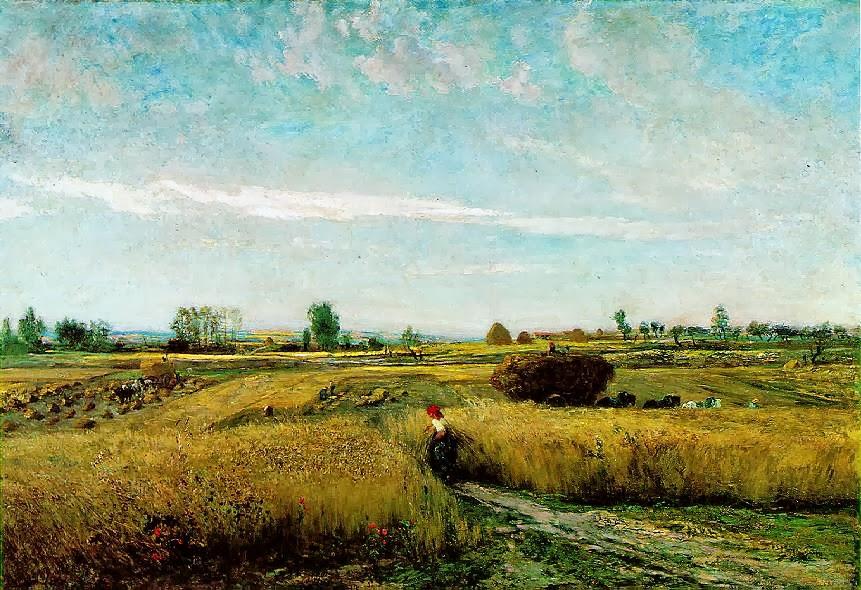 Charles Daubigny - Harvest