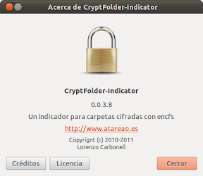Liberado CryptFolder Indicator 0.0.3.8