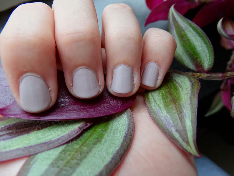 Barry M Matte Nail Paint Vanilla