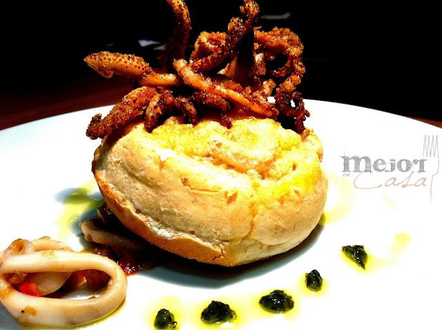 Huevo al nido restaurante a domicilio Mejor en casa