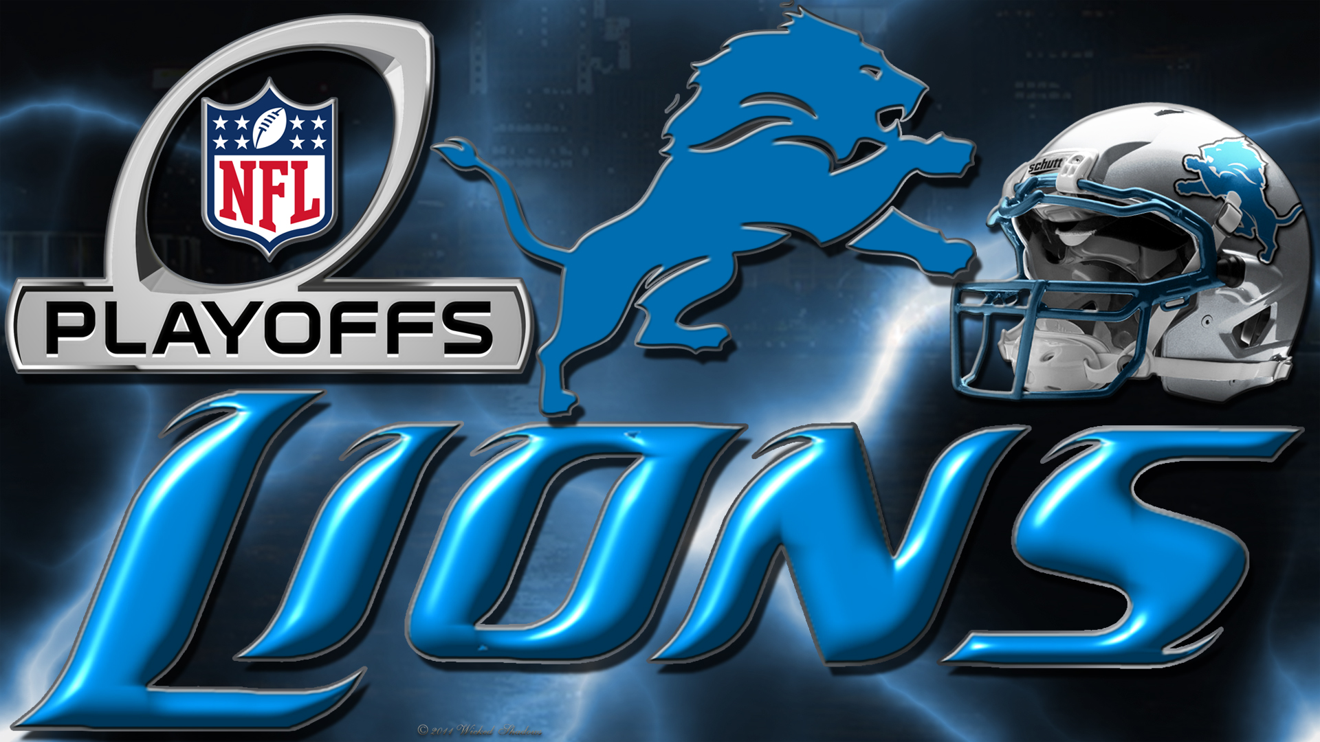 wallpapers by wicked shadows detroit lions 2012 playoffs