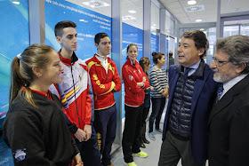 178 promesas del deporte podrán estudiar en las piscinas Mundial 86