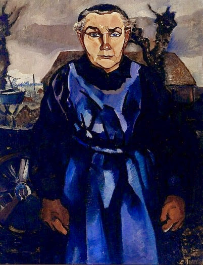 Charley Toorop - Village woman (Mother Akerboom)