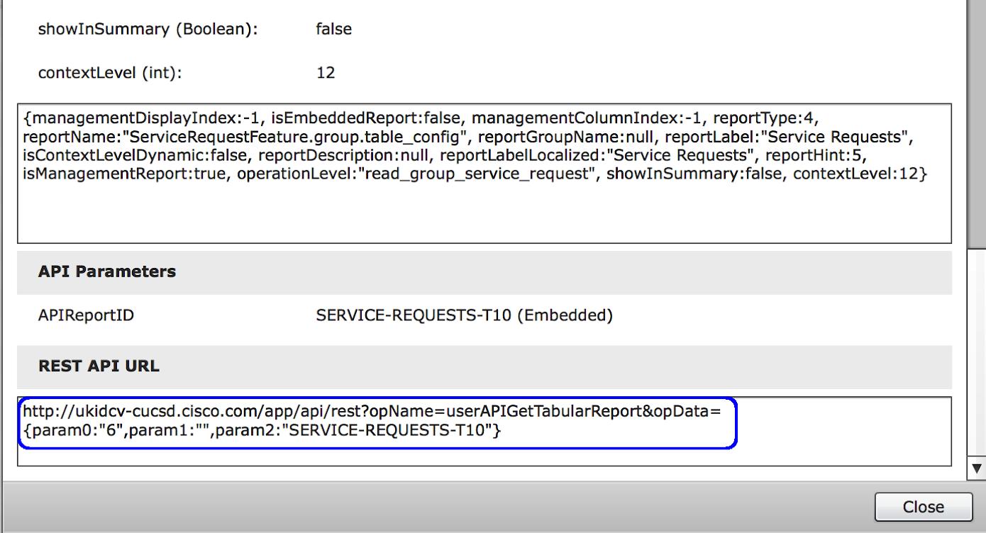 UCS Director API