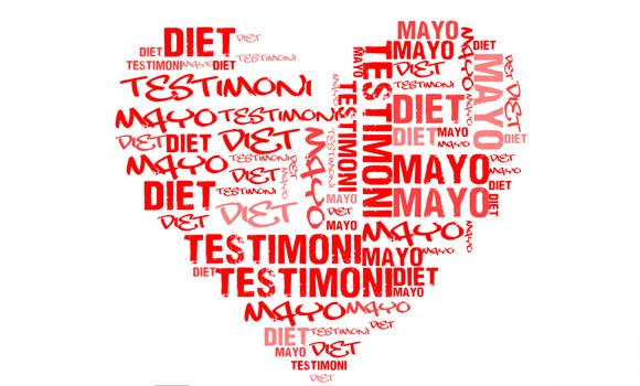 Testimoni diet mayo