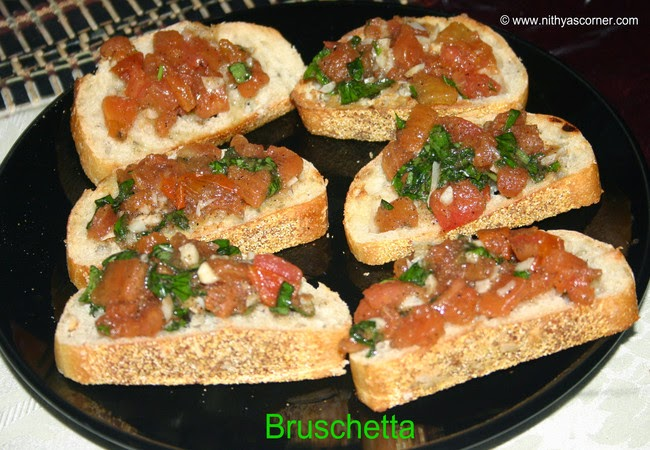 how to make bruschetta with tomato and basil, Easy bruschetta recipe