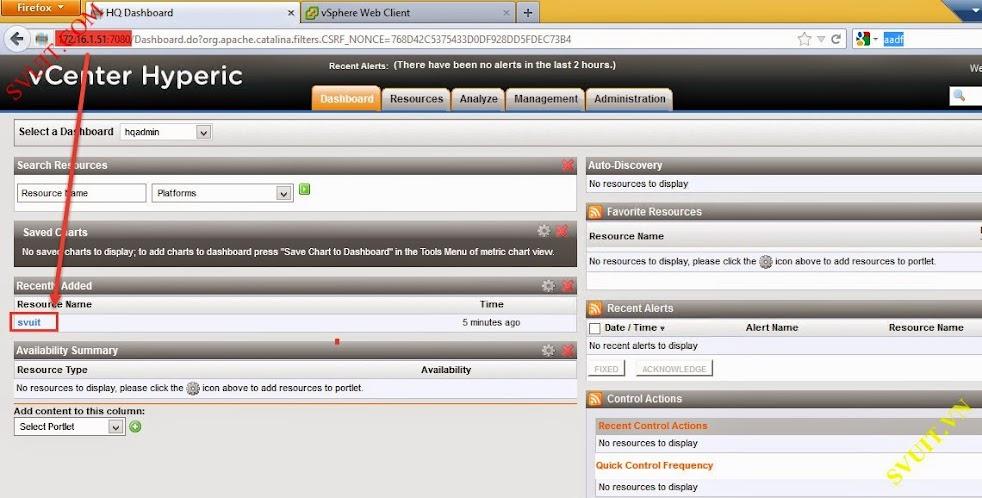 Configure vSphere vCenter Hyperic (3)