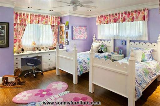 Rộn ràng hoa lá trong phòng ngủ mùa xuân hè_nội thất phòng ngủ-1