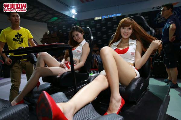 Ngắm dàn mỹ nữ của Perfect World tại ChinaJoy 2013 25