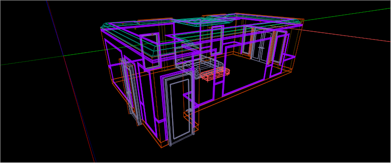 SketchUp - กำหนดการแสดงผลของ SketchUp ให้เหมือนกับการทำงานบน AutoCAD Sutocad02
