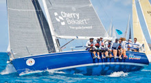 J/120 offshore cruiser racer sailing Antigua