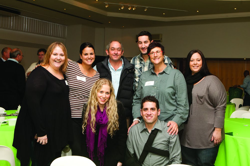 Jodi Sher (YAD Chairman), Alexis Gillis, Robert Brozin, Dale Smiedt, Fiona Sacks, Samantha Sher, Taryn Solomon and Anthony Jacobs.