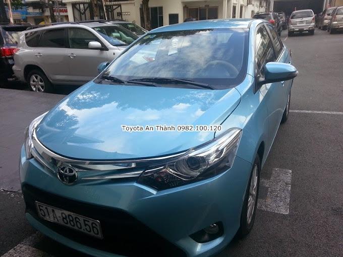 Giá xe Toyota Vios 2015 Màu Xanh Số Tự Động