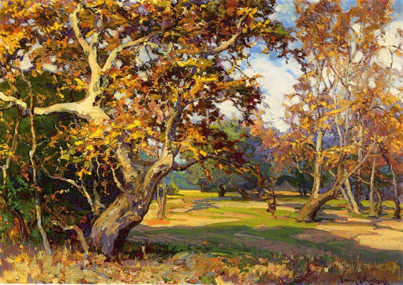 Franz Bischoff - View of the Arroyo Seco from the Artist's Studio