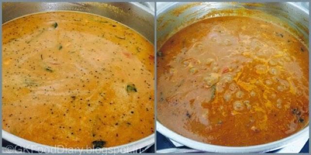 South Indian Fish Curry Recipe (Vanjaram Meen Kuzhambu) 8