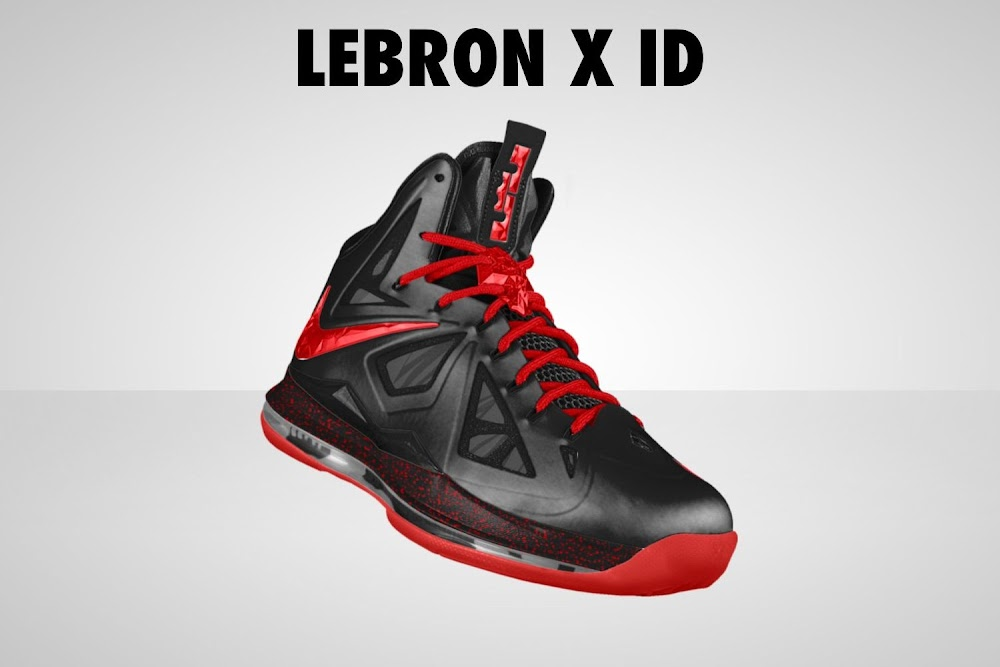 898ca889ec42b Lebron 10 Nike Id Samples For Kids Free