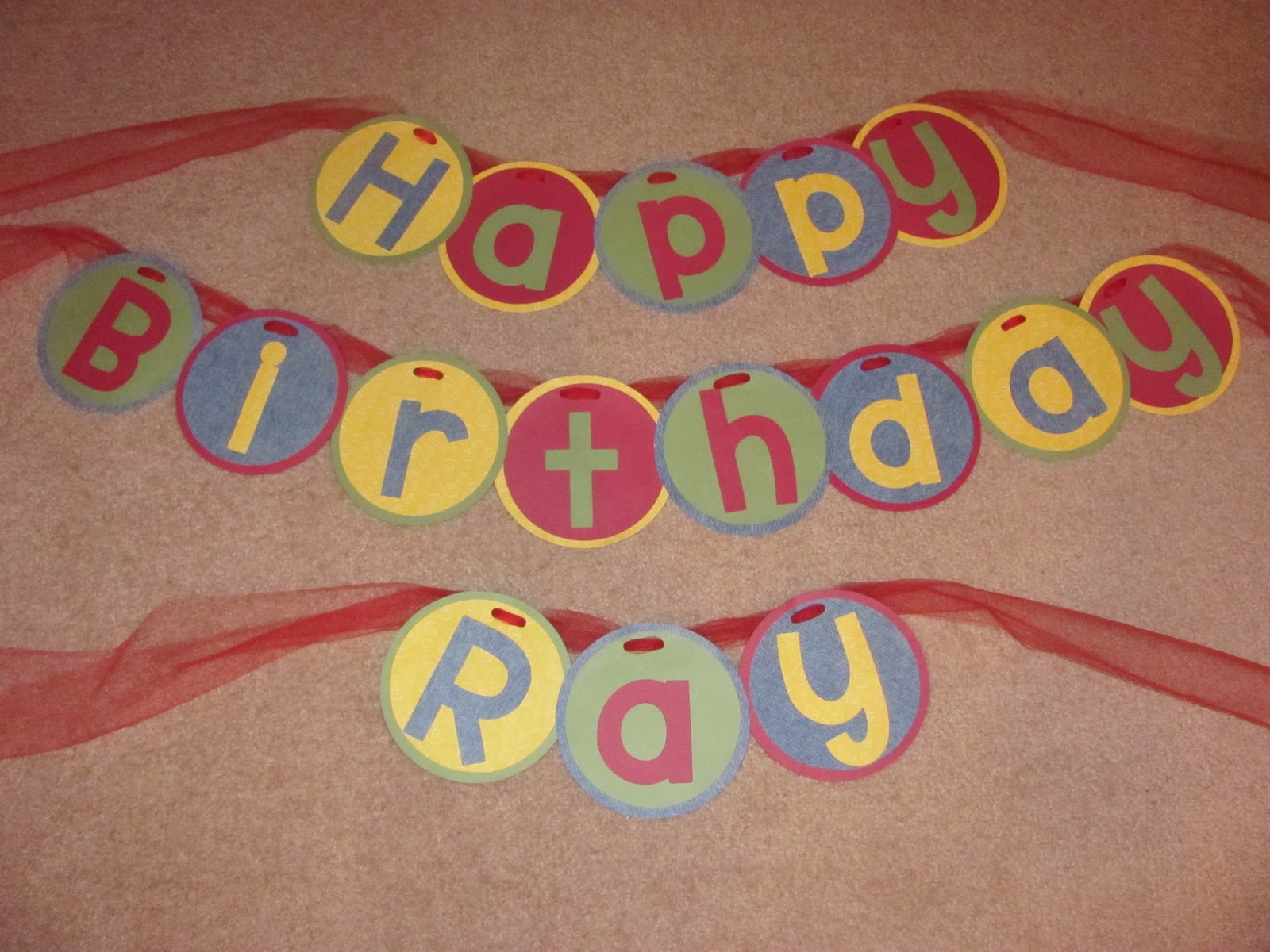 letters for birthday banner
