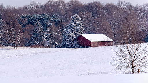 Snow Coverd Farm, Red Barn.jpg