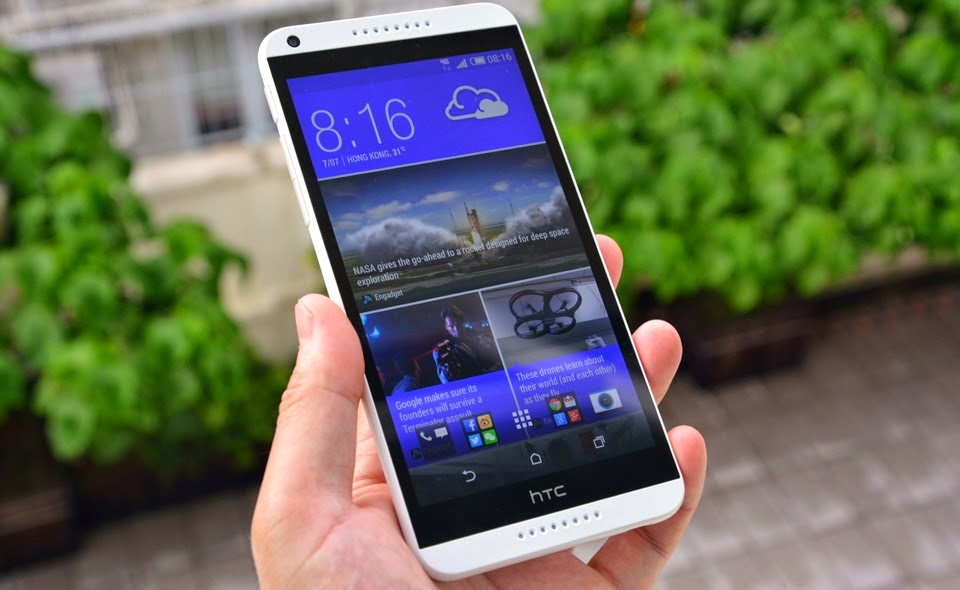 Hướng dẫn Hard Reset HTC Desire 816G