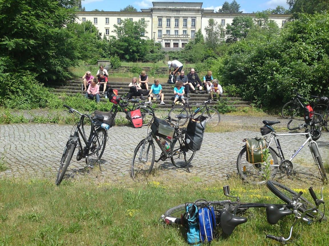 Bogensee Besichtigung adfc berlin rad und touren