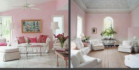 Cosy home una ventata d 39 aria fresca - Couleur peinture rose poudre ...