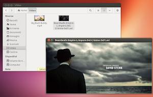 GNOME Sushi su Ubuntu 13.04 Raring