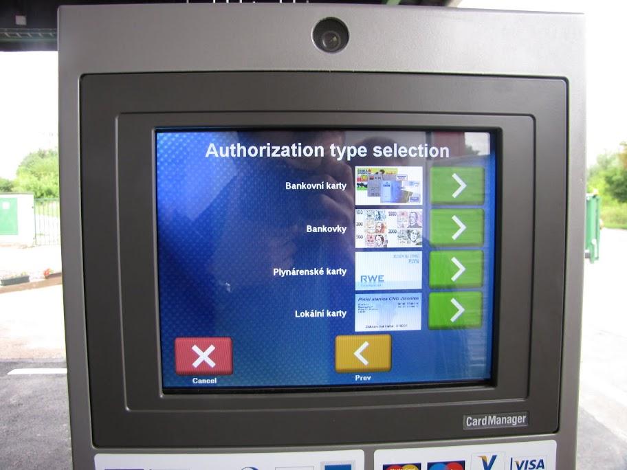 Płatność za CNG - karta płatnicza, gotówka, karty dedykowane
