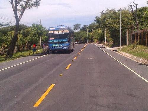 Inauguran 43km de carretera entre Nueva Concepción y Chalatenango