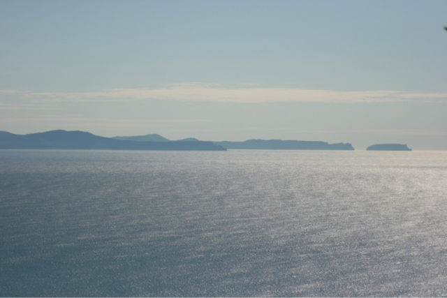 The view from Brunny Island