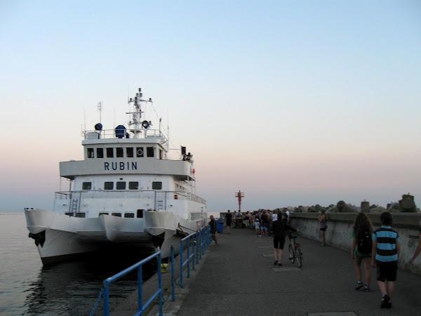 tramwaj wodny z Gdyni na Hel