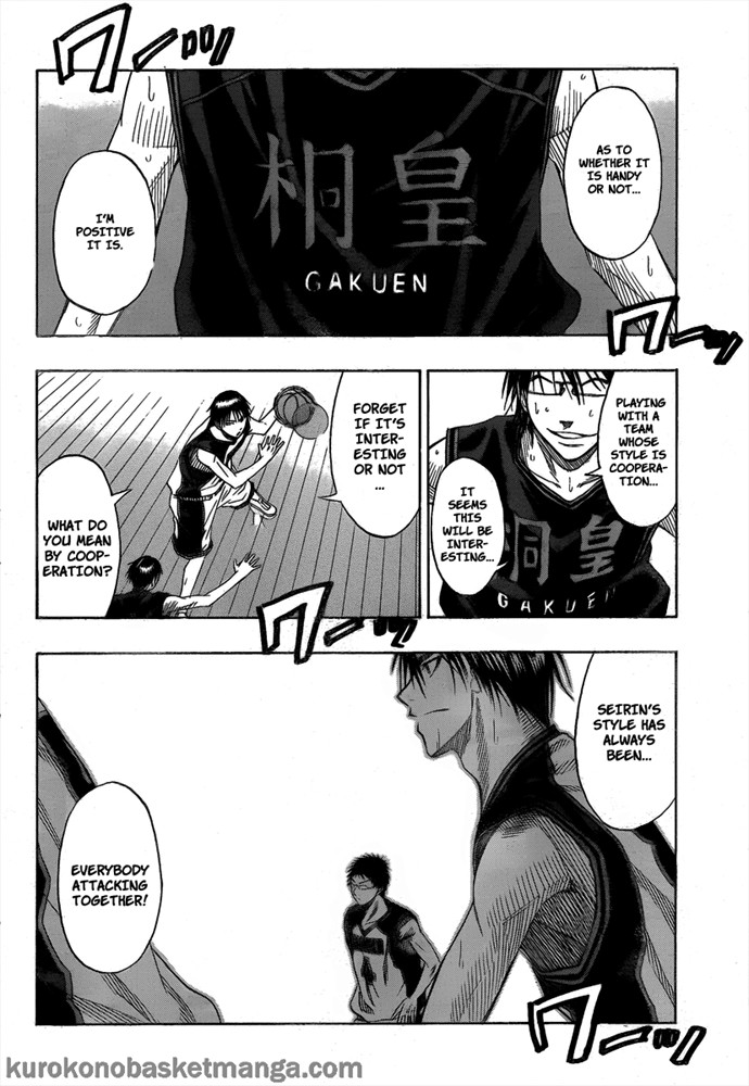 Kuroko no Basket Manga Chapter 43 - Image 08