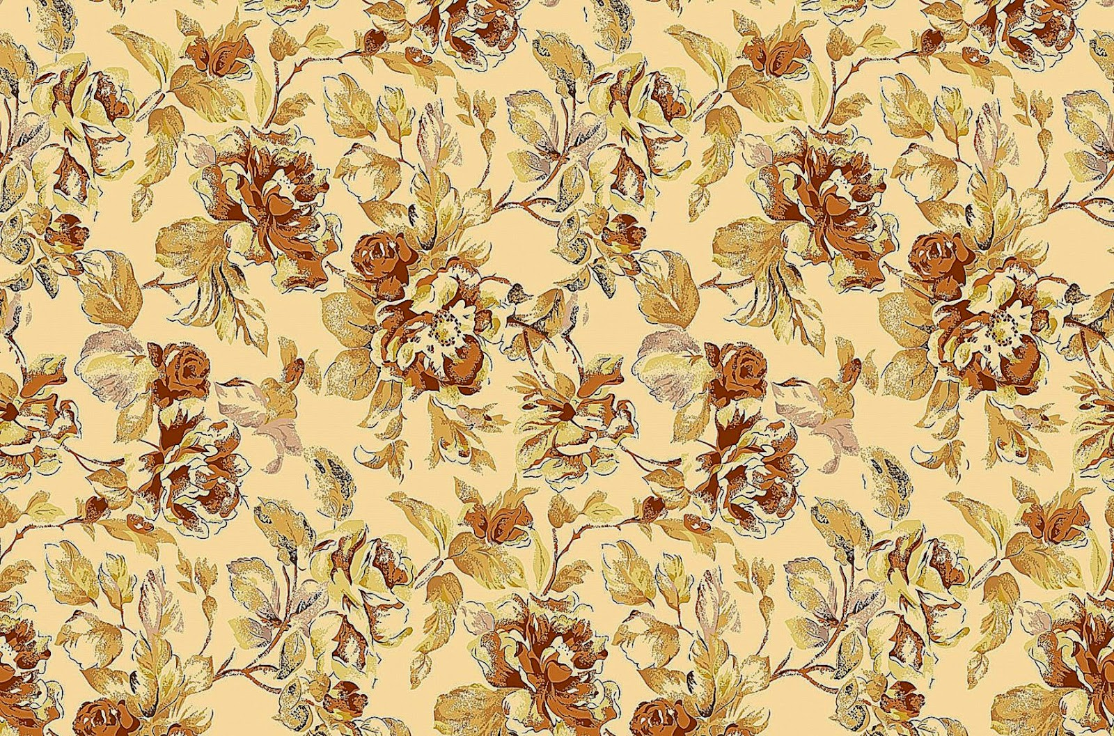 Cool Hd Wallpapers Vintage Floral Wallpaper Pattern