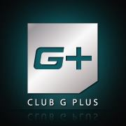 G+ logo for Club G Plus in Shanghai