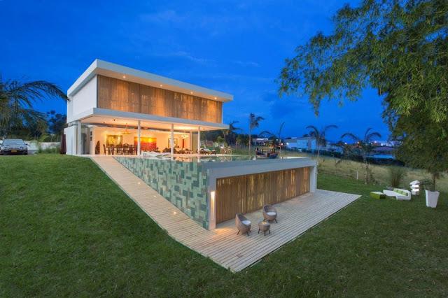 #GM Arquitectos 哥倫比亞建築事務所:打造 Gallery House 藝術之家 別墅 2