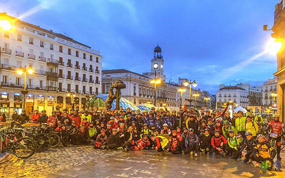 Red MTB 2016 a Chinchón. Salida desde Sol. Domingo 3 de abril ¡Apúntate!