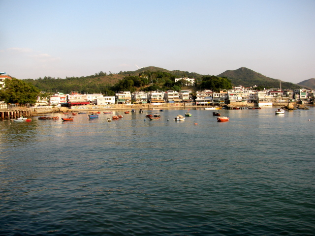 small boats harbor