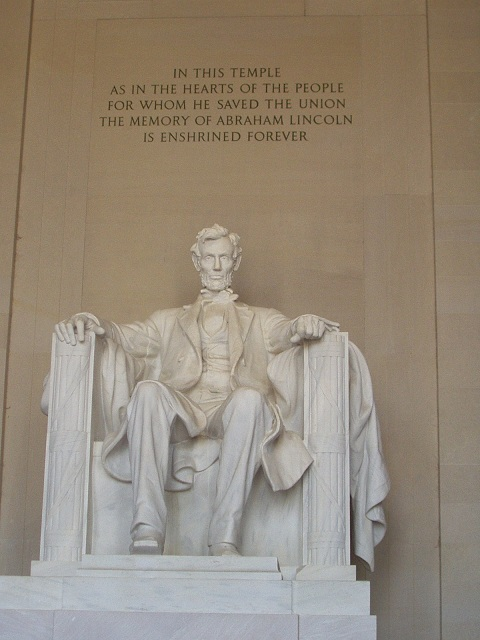 Monumento Abraham Lincoln em washington