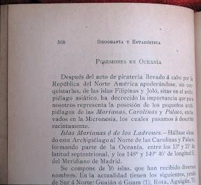 Después del acto de piratería llevado á cabo por la República del Norte de América apoderándose, sin conquistarlas, de las islas Filipinas...