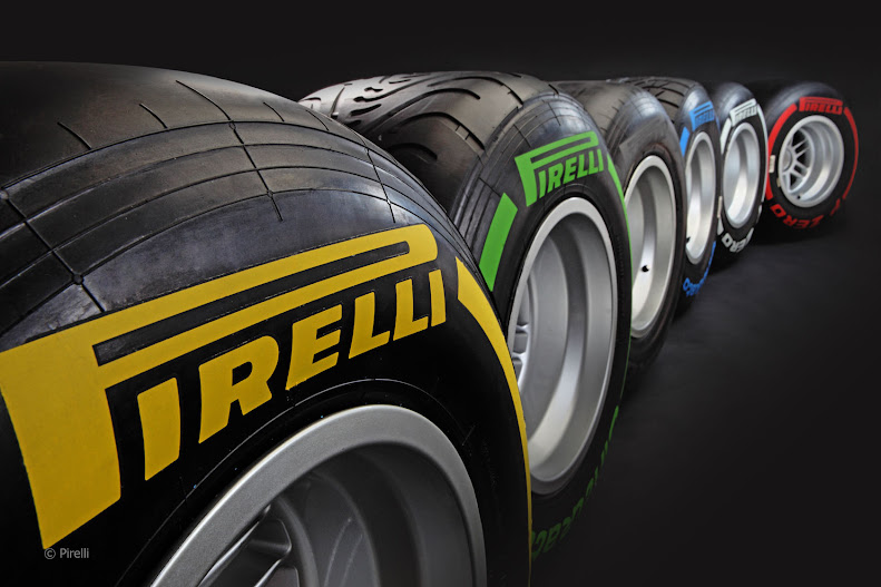 Weekenduae test of Pirelli tyres
