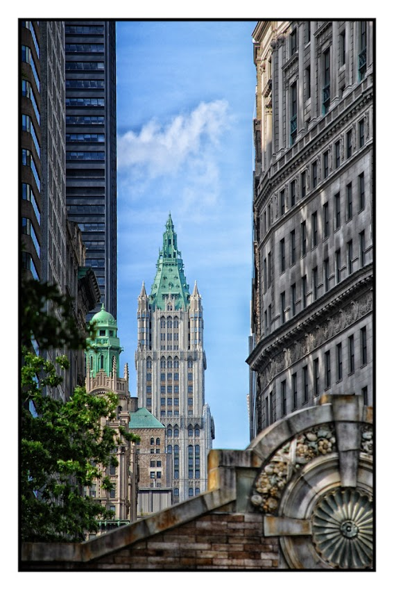 Woolworth Building, Architecture, New York City, street photography, places to visit, tourists and tourism